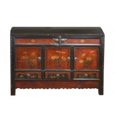 1800's Tibetan Painted Chest
