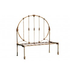 Iron Day Bed White