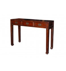 Chinese Side Table 3 Drawers
