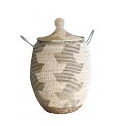 African Straw Basket