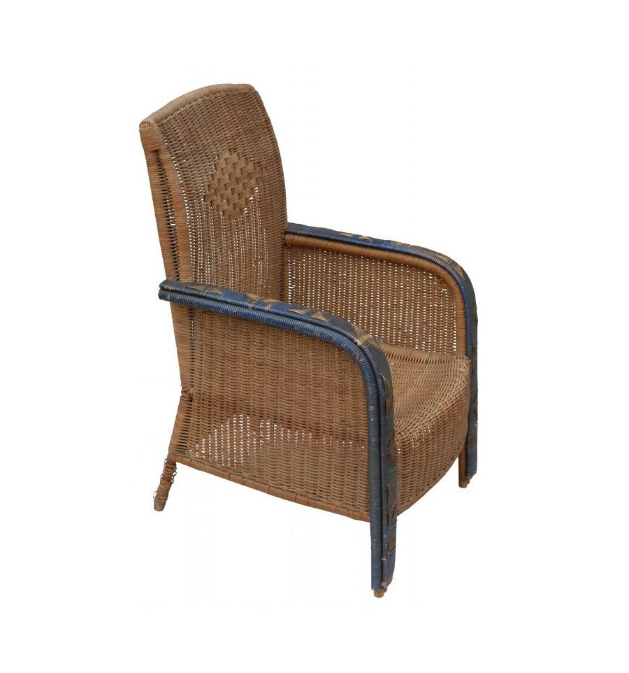 Antique Wicker Armchairs