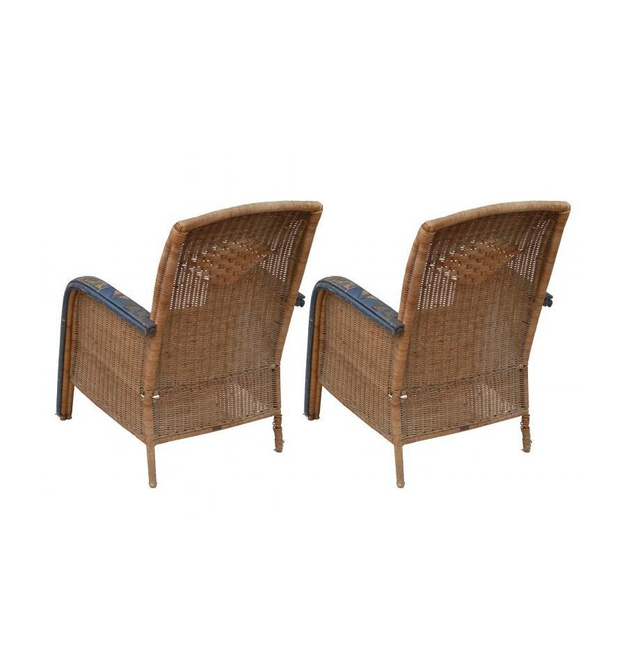 Wicker Armchairs Antique Wicker Armchairs