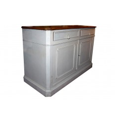 Distressed Painted Cabinet
