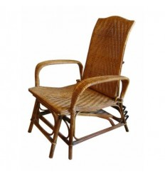 French Bamboo Chaise