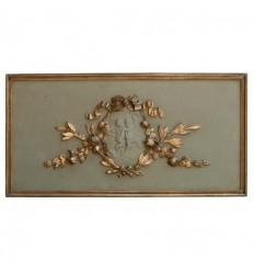 Antique Plaster Plaque
