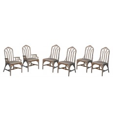 French set of 6 Chairs