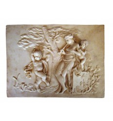 French Cherub Relief