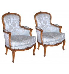French Antique Bergere Chairs