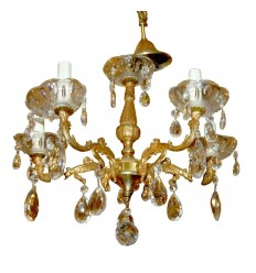 A 5 Arm French Chandelier