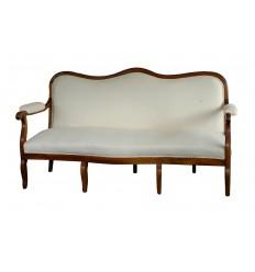 French Wooden Framed Sofa