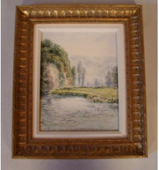 French Landscape in Oil